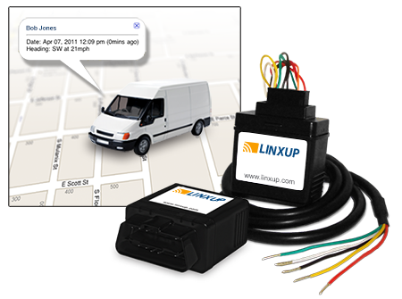 Linxup Vehicle Tracking